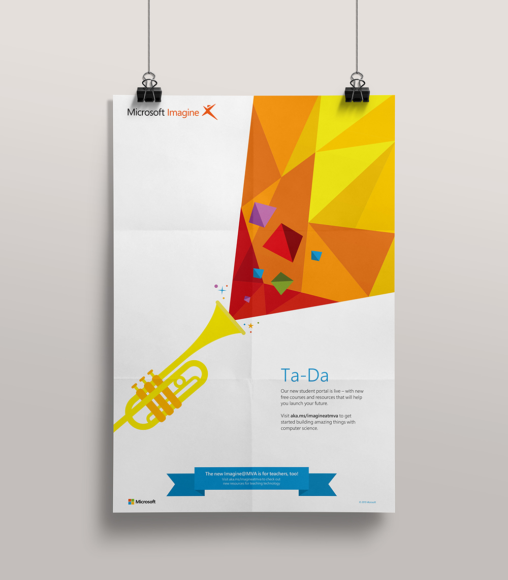 Poster design microsoft - The Objective