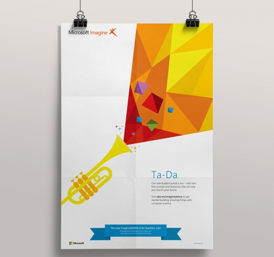 microsoft imagine posters kaylie beckley s portfolio site
